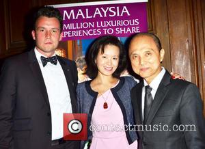 Guest, Lucy Chuo and Jimmy Choo