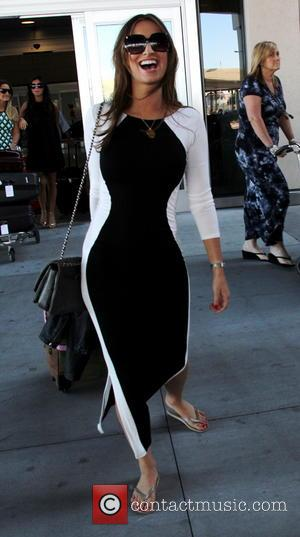 Ferne McCann - Cast members of 'The Only Way Is Essex' arrive at McCarran International Airport. The TOWIE stars are...
