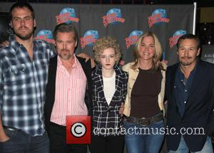Jim Mickle, Bill Sage, Julia Garner, Kassie Depaiva and Nick Damici