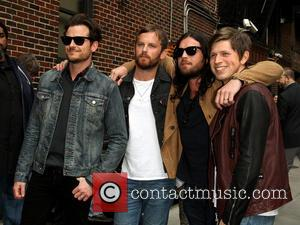 Jared Followill, Caleb Followill, Nathan Followill and Matthew Followill Of The Kings Of Leon