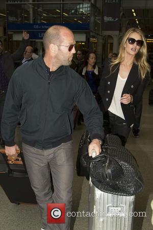Jason Statham - Rosie Huntington-Whiteley and Jason Statham at St...
