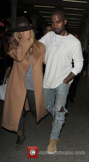 New Parents Kim And Kanye Venture Away From North For The First Time On Parisian Trip