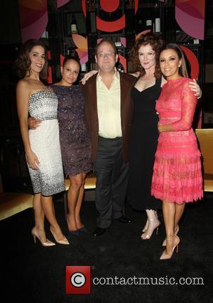 Ana Ortiz, Judy Reyes, Marc Cherry, Rebecca Wisocky and Eva Longoria