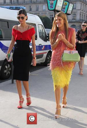 Louis Vuitton, Anna Dello Russo and Giovanna Battaglia