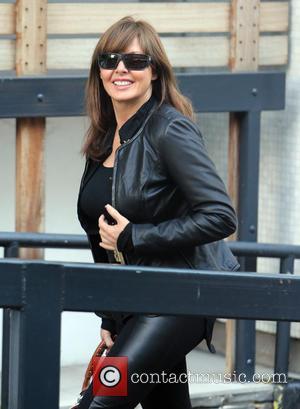 Carol Vorderman - Carol Vorderman outside the ITV studios - London, United Kingdom - Thursday 3rd October 2013