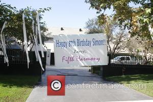 Simon Cowell Celebrates Birthday With Ex-girlfriend