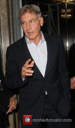Harrison Ford - Celebrities leaving Claridge's Hotel