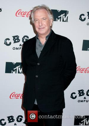 Alan Rickman Injured While Filming His Very First Movie