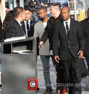 Kanye West & Jimmy Kimmel Kiss And Make-up On 'Live'