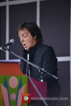 Paul Mccartney Stages Impromptu Show In Times Square