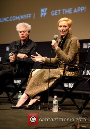 Jim Jarmusch and Tilda Swinton