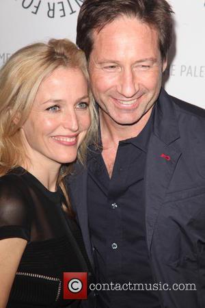 Gillian Anderson and David Duchovny