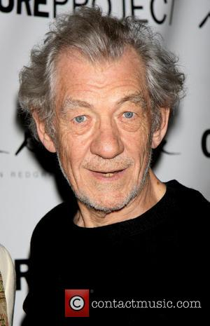 Ian McKellen - Opening night after party for The Seagull-arrivals