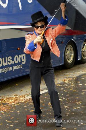 Yoko Ono - John Lennon Education Bus Conference
