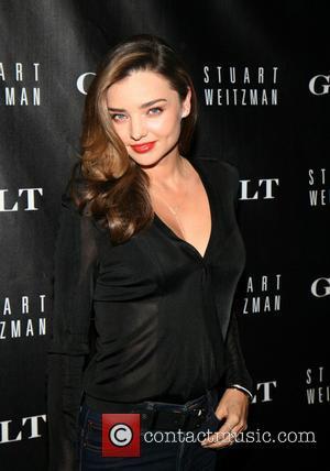 Miranda Kerr - Stuart Weitzman & Gilt digital pop-up shop...