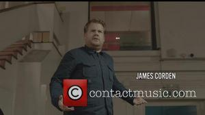 James Corden - Sir Paul McCartney and many famous celebrities on the set of the 'Queenie Eye' video featured on...