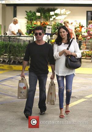Simon Cowell and Lauren Silverman - Simon Cowell and Lauren Silverman at The Ivy and Wholefoods - Beverly Hills, California,...