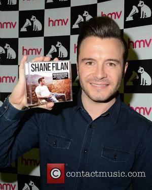 Shane Filan - Shane Filan signs his debut solo album 'You And Me' at HMV Dundrum - Dublin, Ireland -...