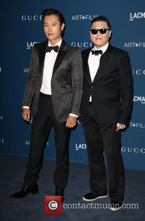 Byung-hun Lee and Psy
