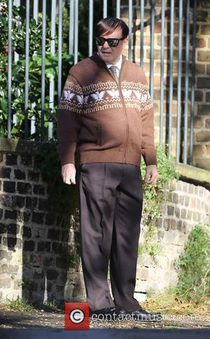 He's Back! Ricky Gervais Films Season 2 Of Derek In London [Pictures]