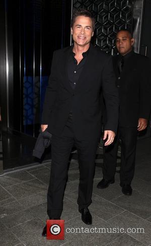 Rob Lowe - Rob Lowe dines at Hakkasan restaurant