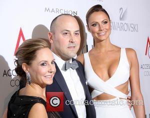 Karen Giberson, Frank Zambrelli and Stacy Keibler