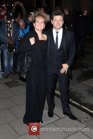 Andy Serkis and Lorraine Ashbourne - Harper's Bazaar Women of the Year Awards 2013 held at Claridge's - Arrivals -...