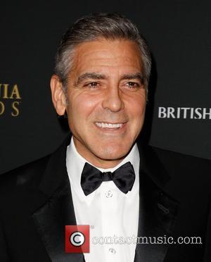 George Clooney Hatching