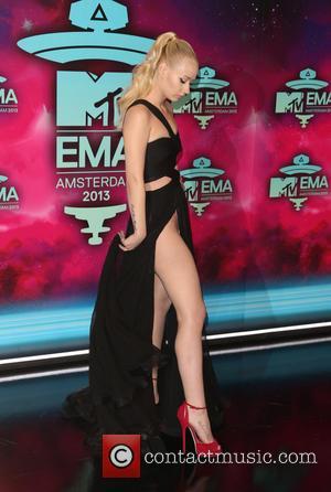 Iggy Azalea - 20th MTV Europe Music Awards held at Ziggo Dome - Arrivals - Amsterdam, Netherlands - Sunday 10th...