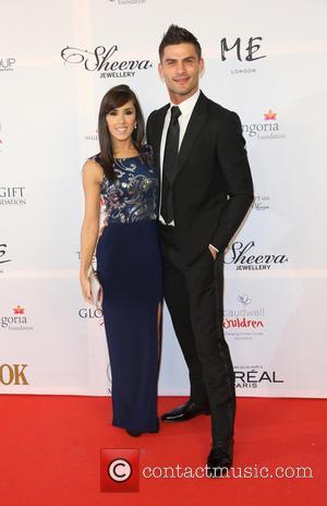 Aljaz Skorjanec and Janette Manrara - The 4th Annual Global Gift Gala held at ME hotel - Arrivals - London,...