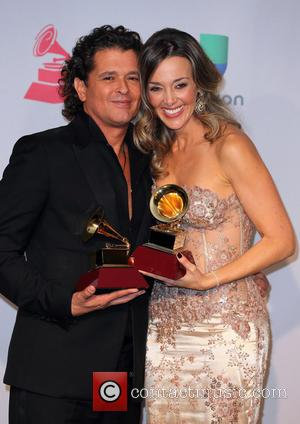 Claudia Elena Vasquez and Carlos Vives