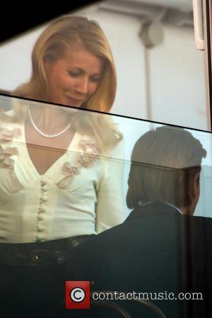 Gwyneth Paltrow - 'Mortdecai' filming on the Southbank in London - London, United Kingdom - Friday 22nd November 2013