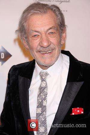 Ian McKellen - Opening Party for Broadway's Waiting For Godot...
