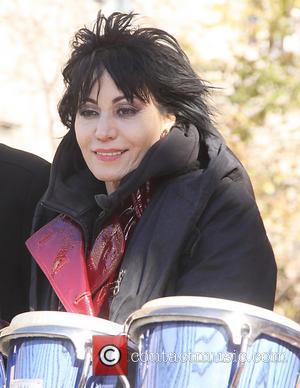 Joan Jett Walks The Runway For Charity Fashion Event