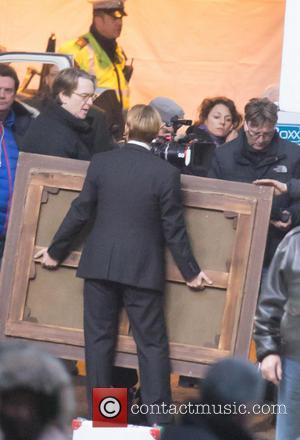 Johnny Depp Goes Blonde For 'Mortdecai' Art Dealer Role [Pictures]