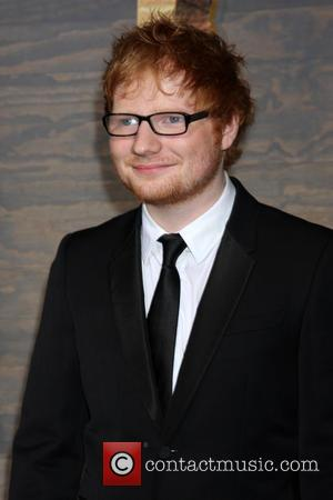 Ed Sheeran Spent Thanksgiving With Jennifer Aniston And Courteney Cox