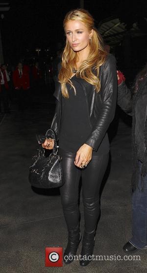 Paris Hilton - Paris Hlton leaving the Jay Z concert