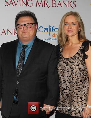 Wayne Knight and Clare De Chenu