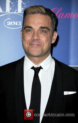 Robbie Williams - Key 103 Jingle Ball Manchester Press Boards
