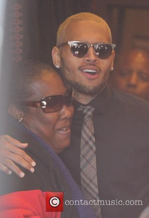 Chris Brown Manages To Behave While On Leave From Rehab For Charity Function
