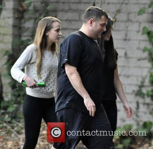 Jonah Hill and Isabelle McNally - Jonah Hill and new girlfriend Isabelle McNally (L) go for an evening hike with...