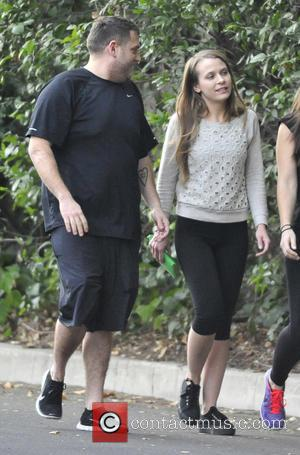 Jonah Hill and Isabelle McNally - Jonah Hill and new girlfriend Isabelle McNally go for an evening hike with a...