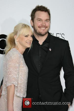 Chris Pratt and Anna Faris - Peoples Choice Awards 2014 Arrivals held at Nokia Theatre L.A. Live, 777 Chick Hearn...