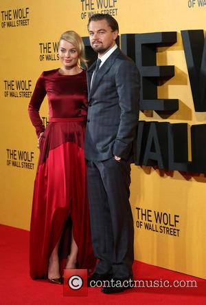 Leonardo Dicaprio and Margot Robbie - The Wolf of Wall Street - UK film premiere held at the Odeon Leicester...