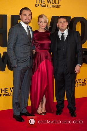 Leonardo DiCaprio, Margot Robbie and Jonah Hill - The Wolf of Wall Street U.K. premiere held at the Odeon Leicester...