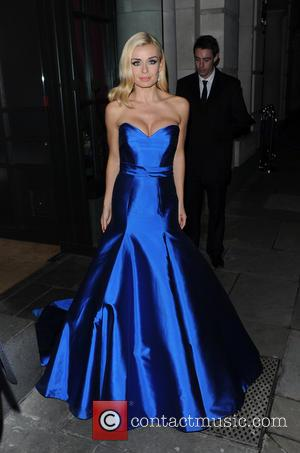 Katherine Jenkins - Katherine Jenkins seen leaving brasserie blanc restaurant in the city after her performance and appearance at the...