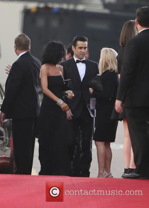 Colin Farrell and Claudine Farrell
