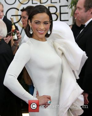 Paula Patton - 71st Annual Golden Globe Awards held at The Beverly Hilton Hotel  - Red Carpet Arrivals -...