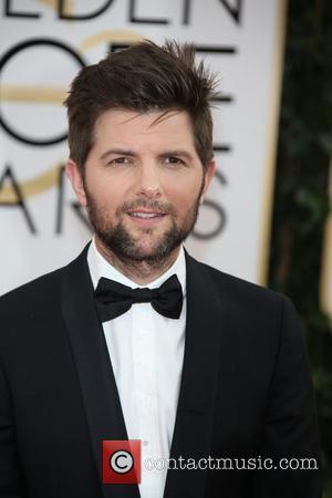 Adam Scott - 71st Annual Golden Globe Awards held at the Beverly Hilton Hotel - Arrivals - Los Angeles, California,...