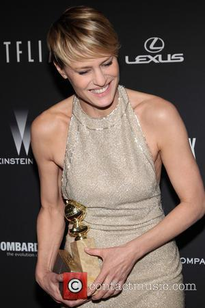 Robin Wright - The Weinstein Company & Netflix 2014 Golden Globes After Party held at The Beverly Hilton Hotel in...
